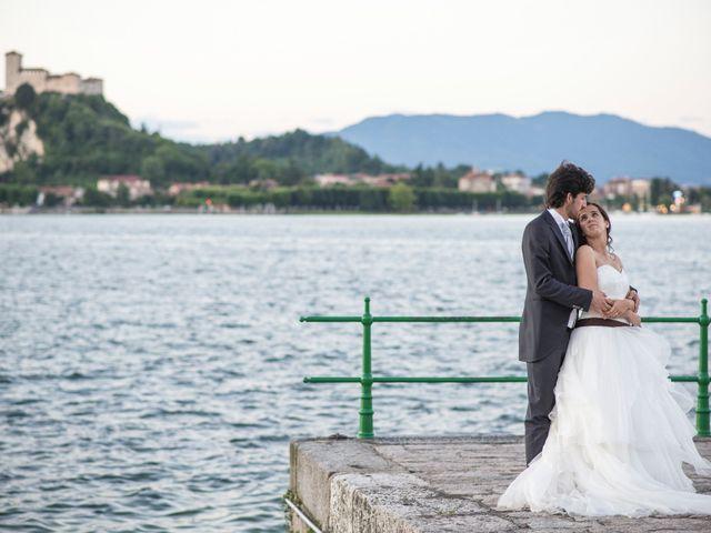 Il matrimonio di Andrea e Pamela a Dormelletto, Novara 59