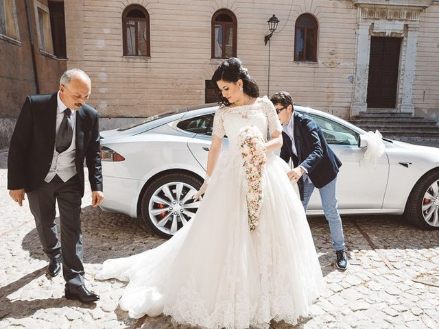 Il matrimonio di Andrea e Alessandra a Veroli, Frosinone 16