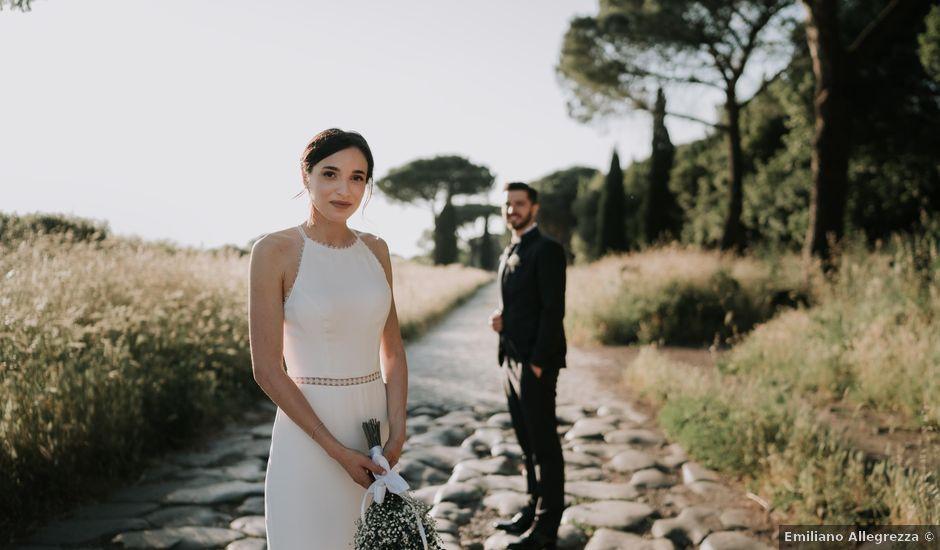 Il matrimonio di Daniele e Giulia a Roma, Roma