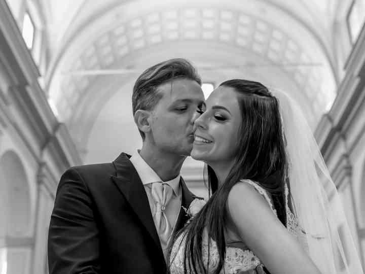 Le nozze di Cinzia e Thomas