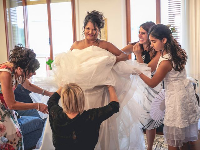 Il matrimonio di Andrea e Valentina a Forlimpopoli, Forlì-Cesena 11
