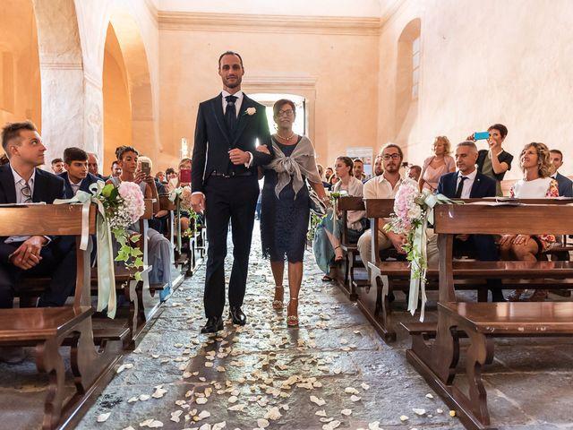 Il matrimonio di Mattia e Veronica a Cremia, Como 30