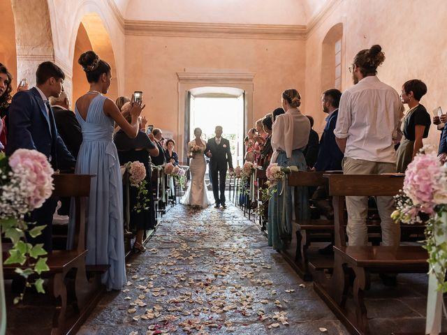 Il matrimonio di Mattia e Veronica a Cremia, Como 32