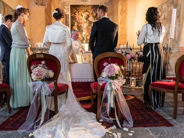 Il matrimonio di Mattia e Veronica a Cremia, Como 33