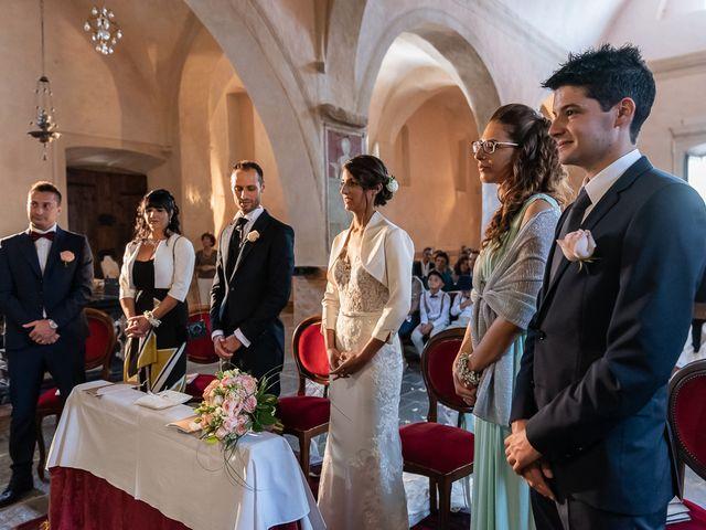 Il matrimonio di Mattia e Veronica a Cremia, Como 34