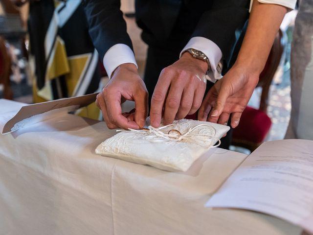 Il matrimonio di Mattia e Veronica a Cremia, Como 35