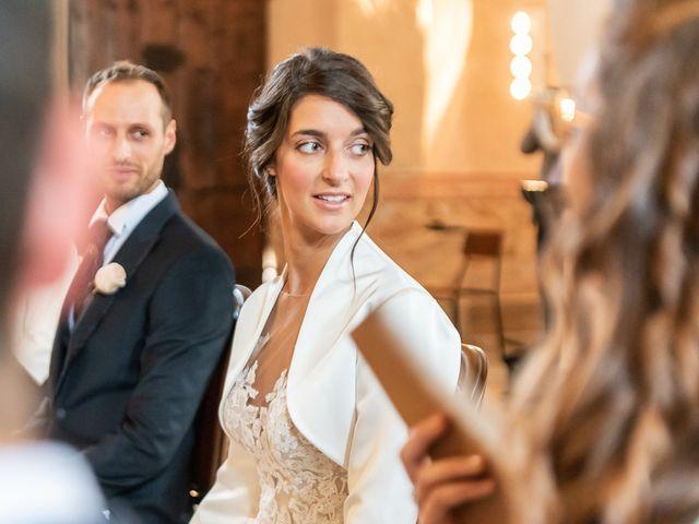 Il matrimonio di Mattia e Veronica a Cremia, Como 40