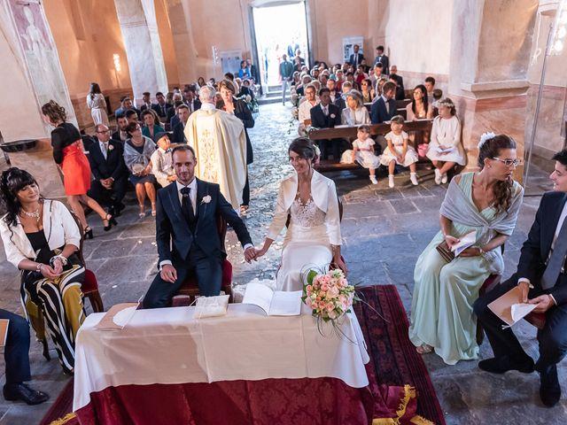 Il matrimonio di Mattia e Veronica a Cremia, Como 41