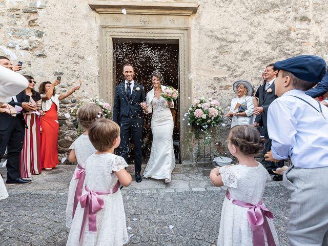 Il matrimonio di Mattia e Veronica a Cremia, Como 43