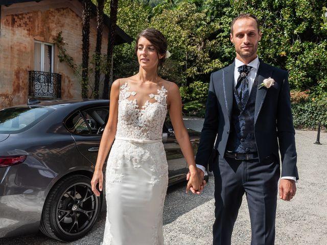 Il matrimonio di Mattia e Veronica a Cremia, Como 45