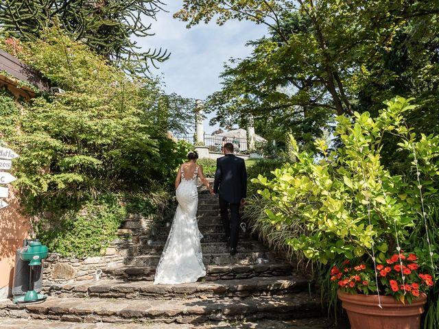 Il matrimonio di Mattia e Veronica a Cremia, Como 46