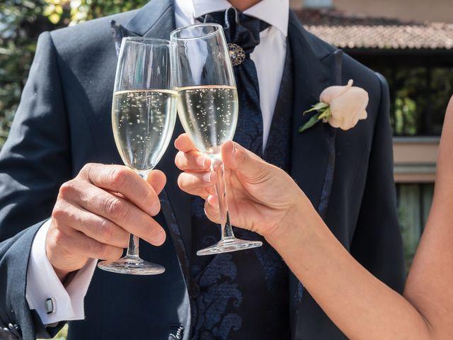 Il matrimonio di Mattia e Veronica a Cremia, Como 47