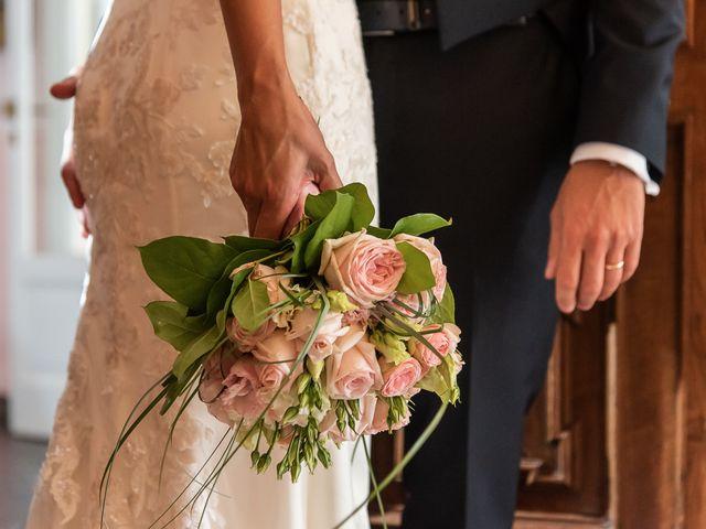 Il matrimonio di Mattia e Veronica a Cremia, Como 53