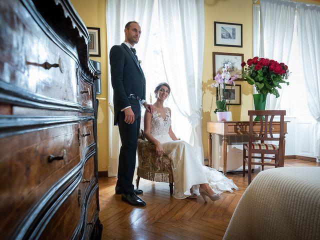 Il matrimonio di Mattia e Veronica a Cremia, Como 57