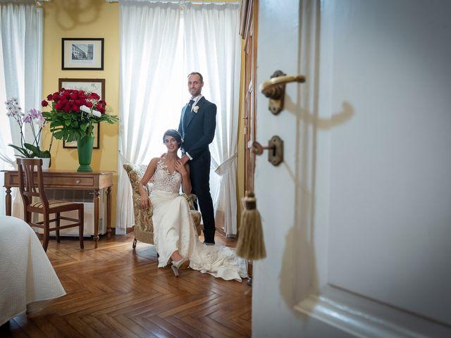 Il matrimonio di Mattia e Veronica a Cremia, Como 58