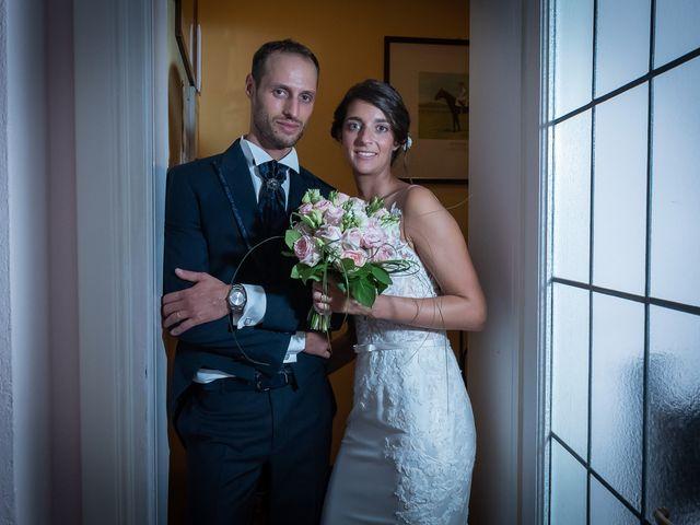 Il matrimonio di Mattia e Veronica a Cremia, Como 59