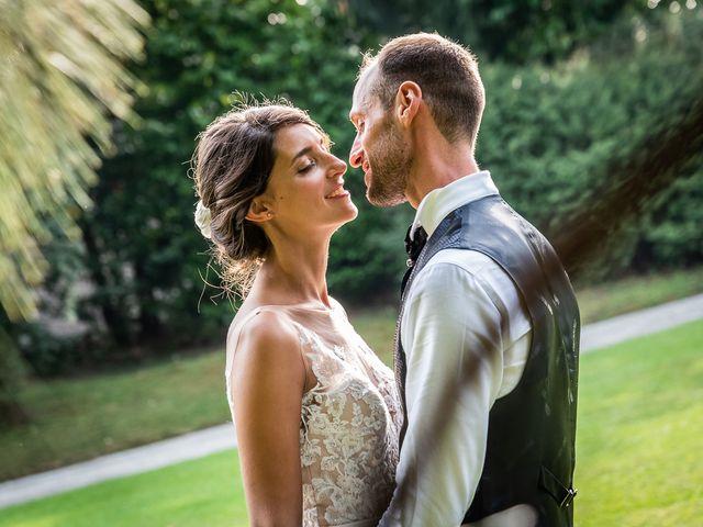 Il matrimonio di Mattia e Veronica a Cremia, Como 74