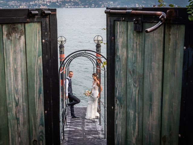 Il matrimonio di Mattia e Veronica a Cremia, Como 75