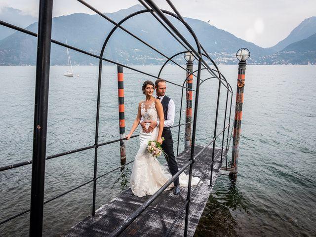 Il matrimonio di Mattia e Veronica a Cremia, Como 76