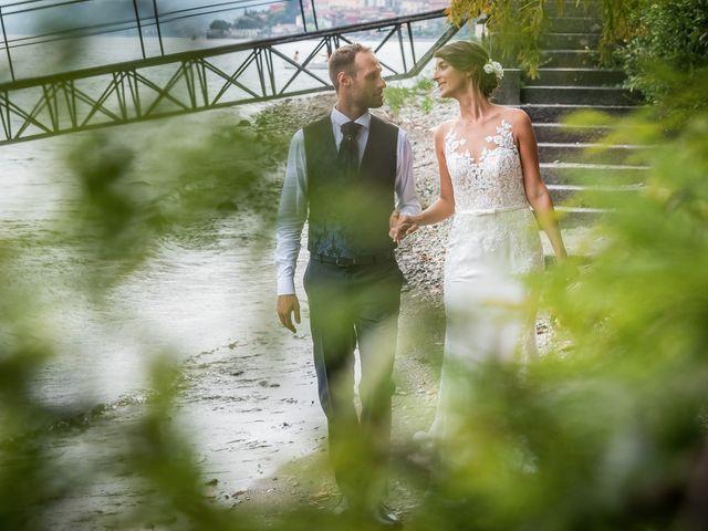 Il matrimonio di Mattia e Veronica a Cremia, Como 78
