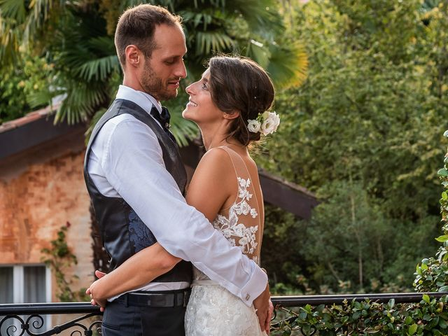 Il matrimonio di Mattia e Veronica a Cremia, Como 86