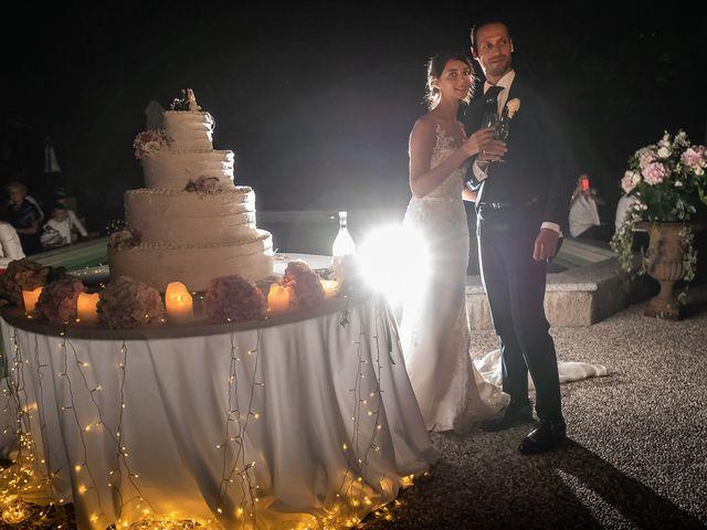 Il matrimonio di Mattia e Veronica a Cremia, Como 101
