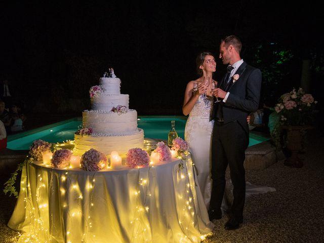 Il matrimonio di Mattia e Veronica a Cremia, Como 102