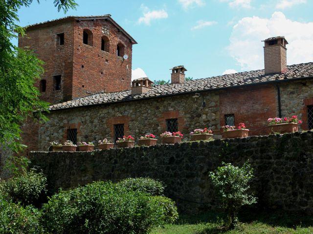 Il matrimonio di Fabrizio e Simona a Chiusdino, Siena 6