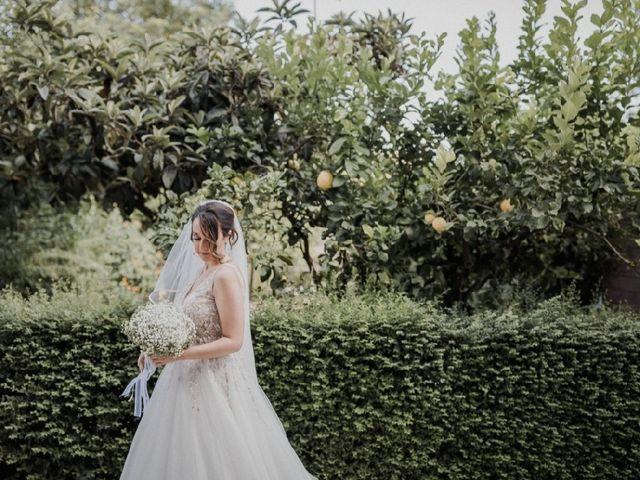 Il matrimonio di Emilio  e Angela a Montepaone, Catanzaro 1
