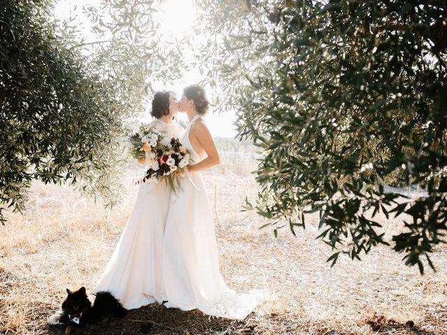 Il matrimonio di Selene e Marina a Polignano a Mare, Bari 1