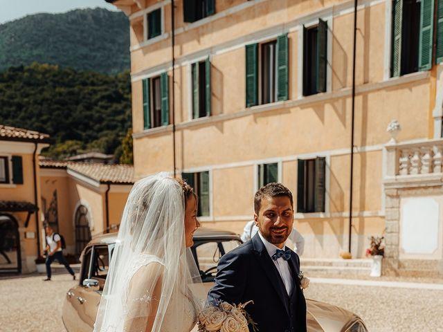 Il matrimonio di Davide e Anna a Caprino Veronese, Verona 32