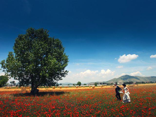 Le nozze di Cristian e Eliana
