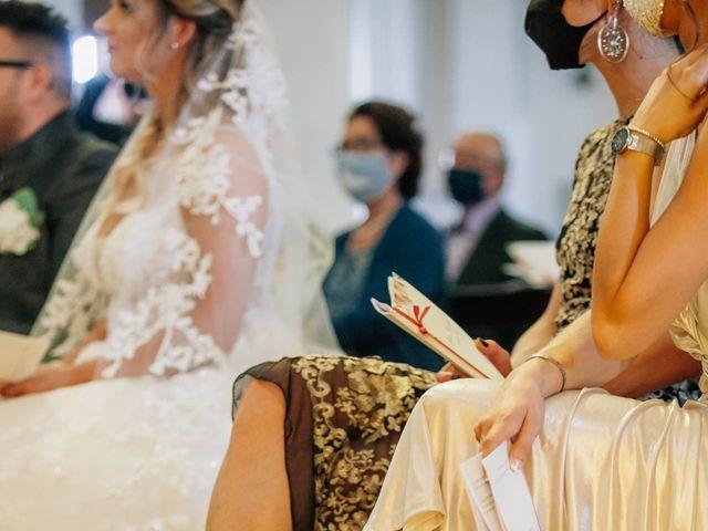 Il matrimonio di Pierdavide e Julie a Fontanelle, Treviso 7