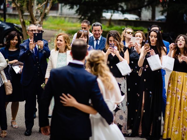 Il matrimonio di Giovanni e Giulia a Saronno, Varese 28