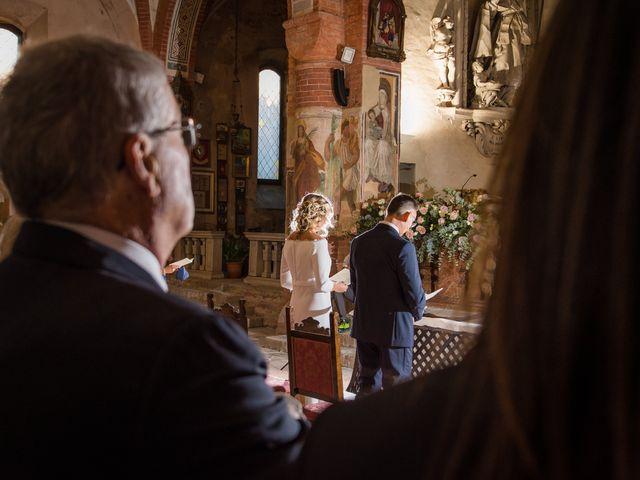 Il matrimonio di Fabrizio e Isabella a Piovera, Alessandria 20