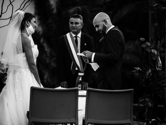 Il matrimonio di Simone e Noemi a Settimo San Pietro, Cagliari 127