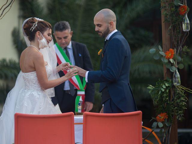 Il matrimonio di Simone e Noemi a Settimo San Pietro, Cagliari 135