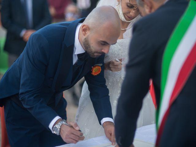 Il matrimonio di Simone e Noemi a Settimo San Pietro, Cagliari 140