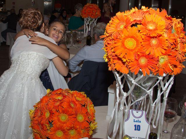 Il matrimonio di Simone e Noemi a Settimo San Pietro, Cagliari 267
