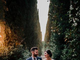 Le nozze di Kristin e Randy 1