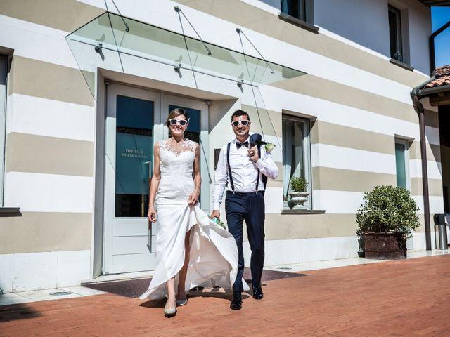 le nozze di Silvia e Vanni