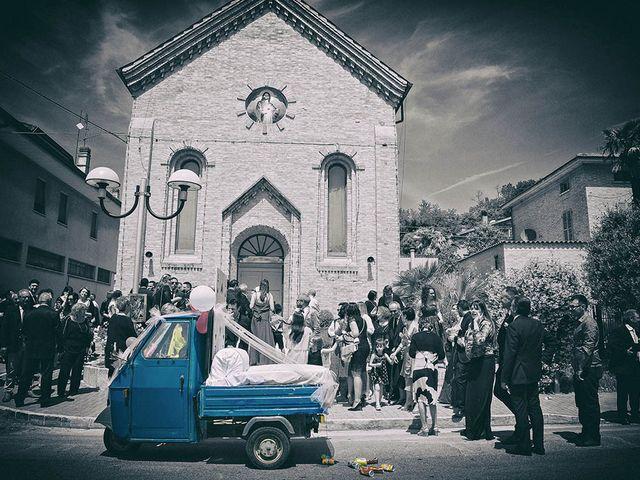 Il matrimonio di Devid e Eleonora a Fermo, Fermo 35