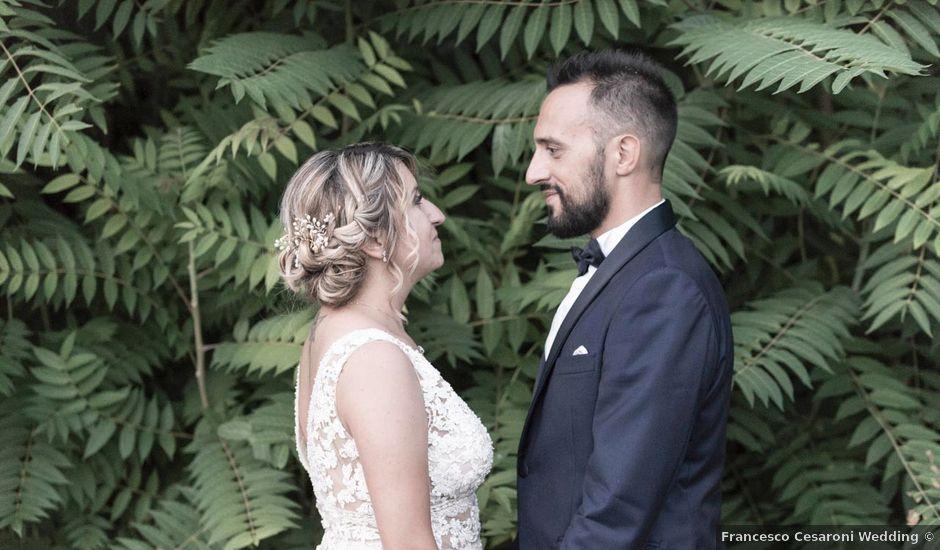 Il matrimonio di Lorenzo e Federica a Fossombrone, Pesaro - Urbino