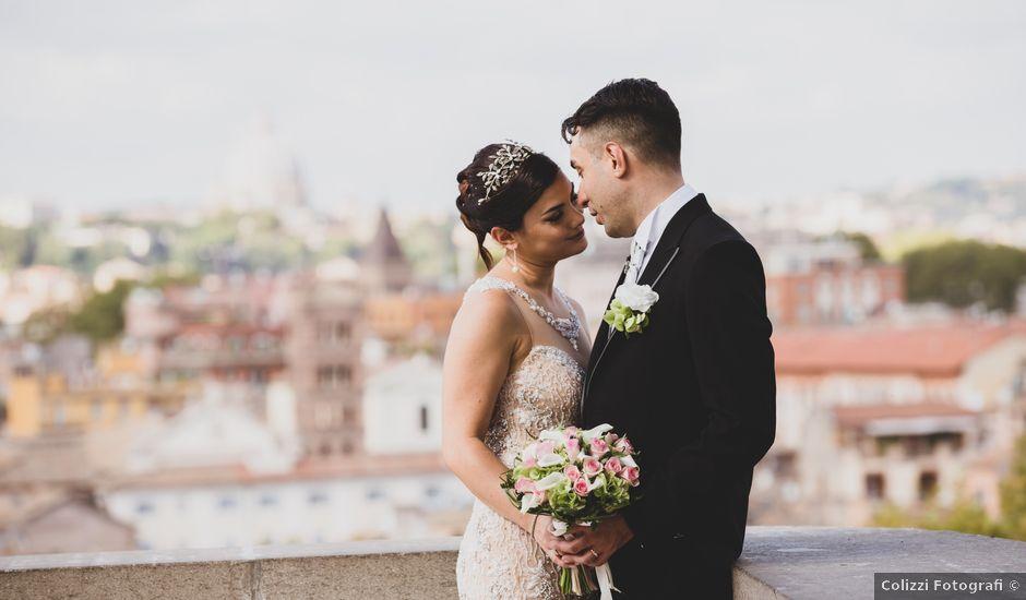 Il matrimonio di Daniele e Daniela a Roma, Roma