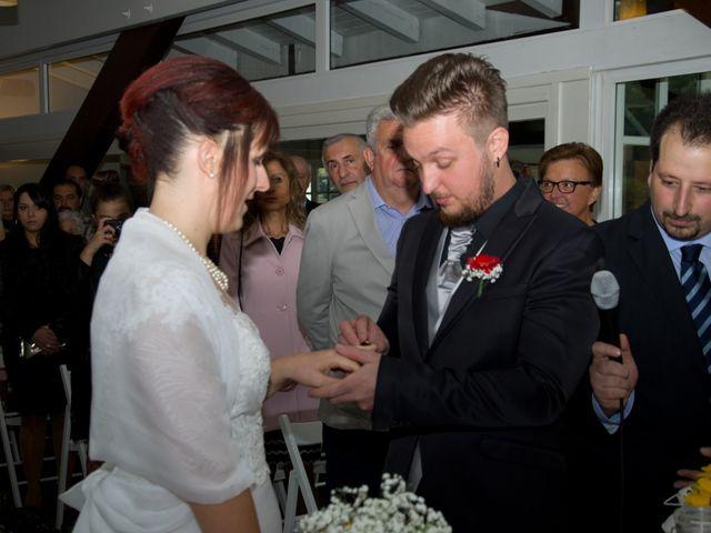 Il matrimonio di Alessandro e Alice a Moscazzano, Cremona 25
