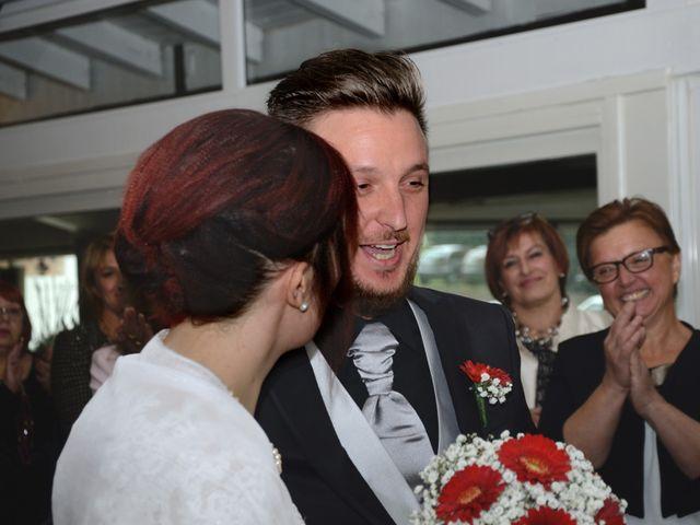 Il matrimonio di Alessandro e Alice a Moscazzano, Cremona 28
