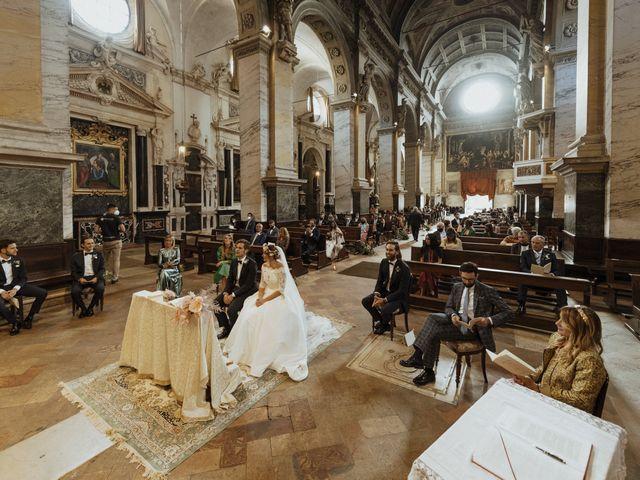 Il matrimonio di Matteo e Valentina a Soragna, Parma 41