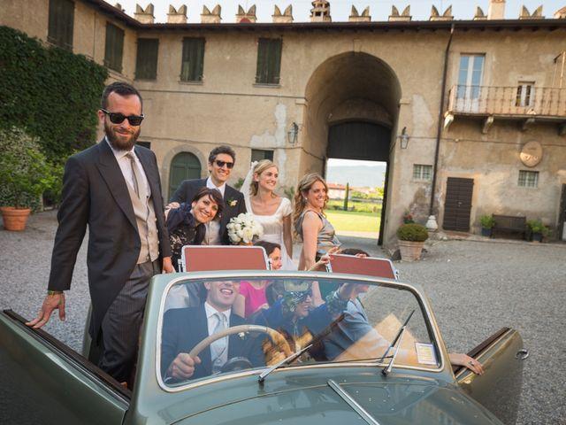 Il matrimonio di Roberto e Marina a Passirano, Brescia 76