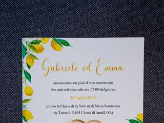Le nozze di Emma e Gabriele 2