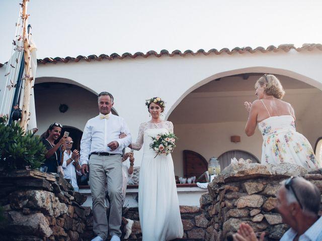 Il matrimonio di Thomas e Aurélie a Porto Cervo, Sassari 43